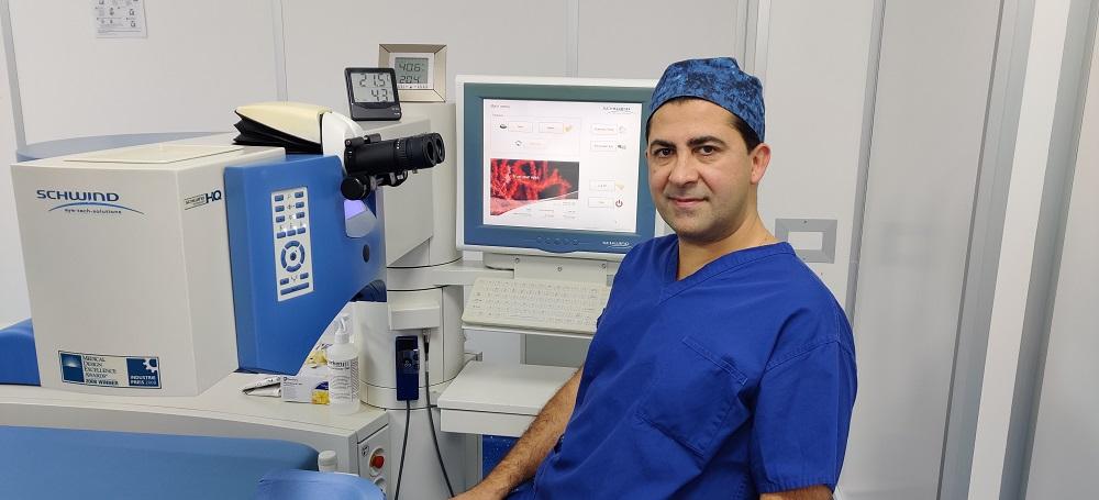Dr Amir Laser Eye Surgeon in London